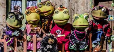 Auntie Frog - خاله قورباغه + Q&A with Mahchehreh Khalili